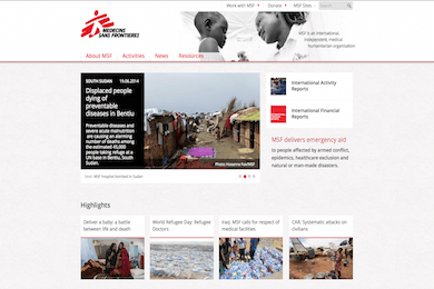 MSF Website